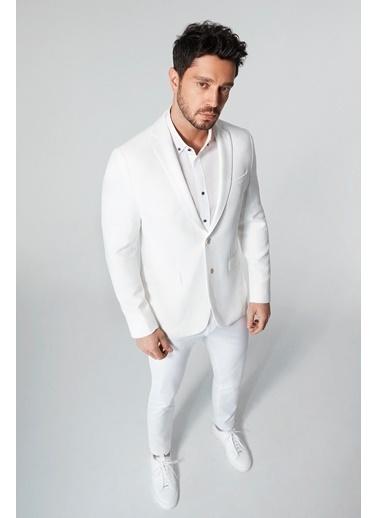 Avva Ceket Beyaz